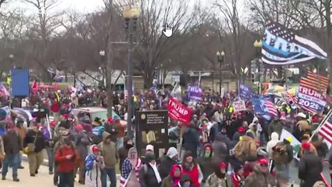 «Bleibt friedlich!»: Trump-Anhänger stürmen Kapitol in Washington