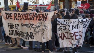 24-Jähriger nahm zufällig an «Basel Nazifrei»-Demo teil – jetzt wurde er verurteilt
