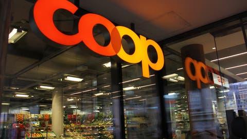 Die Coop Supermärkte erzielten 2020 einen Umsatz von 12 Milliarden Franken. (Claudia Meier)