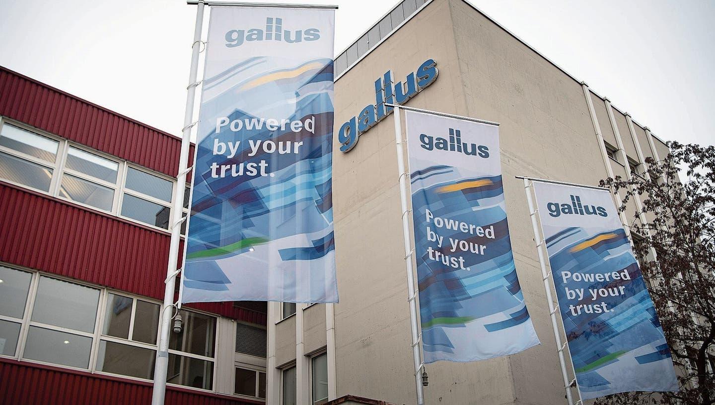 Der Hauptsitz der Gallus-Gruppe in St.Gallen. (Bild: Ralph Ribi (4. Januar 2021))