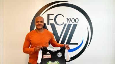 Mittelstürmer Silvio hat beim FC Wil einen Vertrag bis zum 30. Juni 2022 unterschrieben. (Bild: PD)