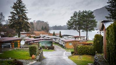 Wagenhausen ist bekannt für den Campingplatz direkt am Rheinufer. (Bild: Andrea Stalder(21. Dezember 2018))