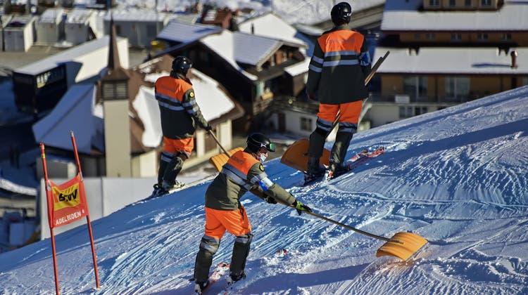 In Maribor liegt zu wenig Schnee. Die Rennen werden nun in Kranjska Gora stattfinden. (Symbolbild) (Keystone)
