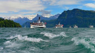 Das Dampfschiff «Stadt Luzern» reiht sich im Frühling wieder in die aktive Flotte ein. (Bild: SGV)