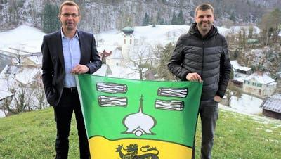Am 31. Dezember war in Kobelwald Amts- und Fahnenübergabe. (Bild: PD)