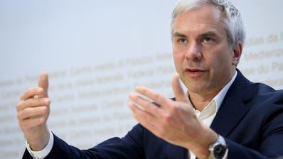 Martin Ackermann, Präsident der Taskforce. (Keystone (Bild: Bern, 16. Oktober 2020))