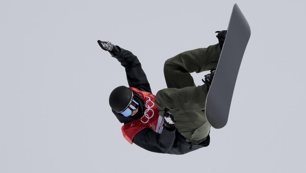 Auch schon bei der Olympiade in Pyeongchang in der Luft: der 25-jährige Jonas Boesiger. (Keystone)