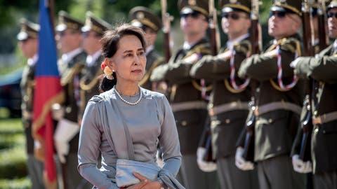 Das Militär hat in Myanmar die Macht übernommen, dieDe-Facto-Regierungschefin Aung San Suu Kyi, ist von der Armee festgenommen worden. (Foto: Keystone)