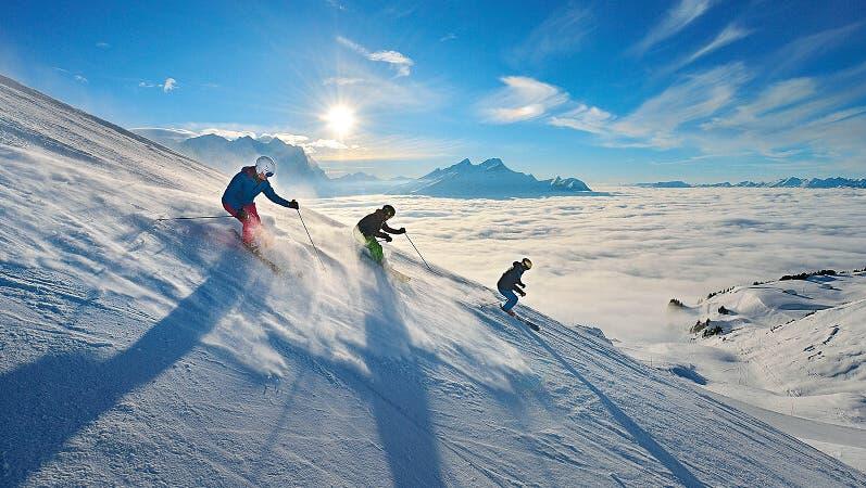 Die Skisaison in der Schweiz läuft. (Christian Perret)