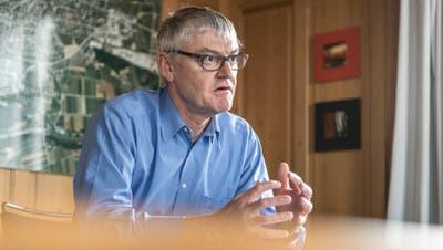Der Weinfelder Schulpräsident Thomas Wieland. (Bild: Andrea Stalder)