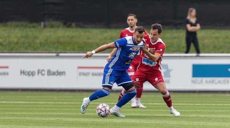 Während U21-Teams wieder spielen dürfen, warten Baden und Wohlen weiterhin auf eine Lockerung der Coronamassnahmen. (Bild: Dani Mercier/ «Aargauer Zeitung»)