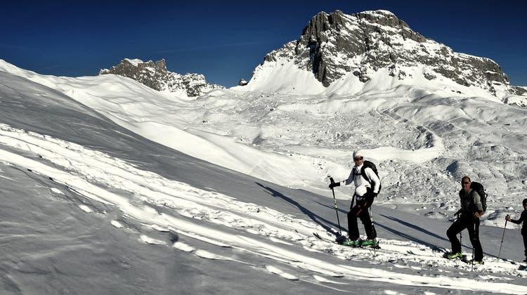 Erholung pur: eine Skitour im Prättigau. (PD)