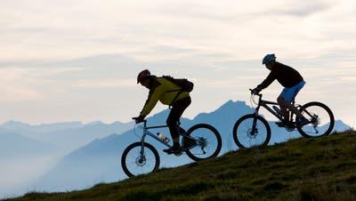 Insgesamt sollen im hinteren Engelbergertal ein Dutzend Trails gebaut und verbessert werden. (Alessandro Della Bella / KEYSTONE)