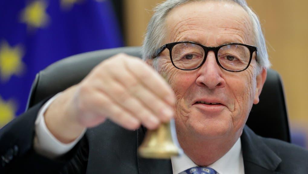 Jean-Claude Juncker über seine Zeit als EU-Kommissionspräsident: «Ich war der Schweiz gegenüber nie auf Krawall gebürstet. Ganz im Gegenteil.» (Keystone)