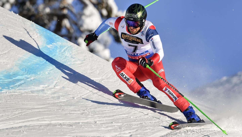 Keine WM-Medaille: Jonas Lenherr schied im Viertelfinal aus. (Bild: Anders Wiklund/EPA)