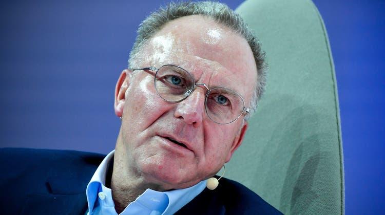 Bayern-Boss Karl-Heinz Rummenigge: Bundesliga-Profis könnten Impfvorbilder sein. (Keystone)