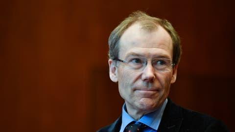 Johannes Rüegg-Stürm, HSG-Professor und ehemaliger Raiffeisen-Verwaltungsratspräsident. (Bild: Walter Bieri / KEYSTONE)