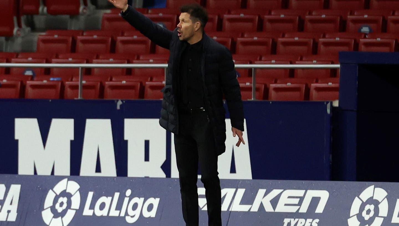 Er allein hat das Sagen bei Atlético Madrid: Diego Simeone. (Keystone)