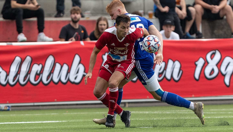 Der Spielbetrieb in der 1. Liga kann frühstens im April wieder aufgenommen werden. (Dani Mercier / Aargauer Zeitung)
