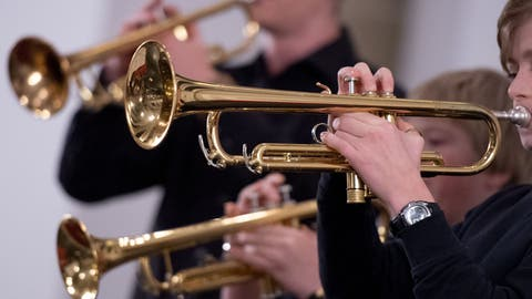In der St.Galler Primarschule Spelterini wurde auch in der Pandemie wöchentlich klassenübergreifend musiziert. (Symbolbild: Noah Wedel/Imago)