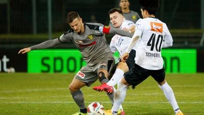 Vier Spieler müssen nachsitzen: Das sind die Noten zum Spiel FC Aarau gegen Schaffhausen