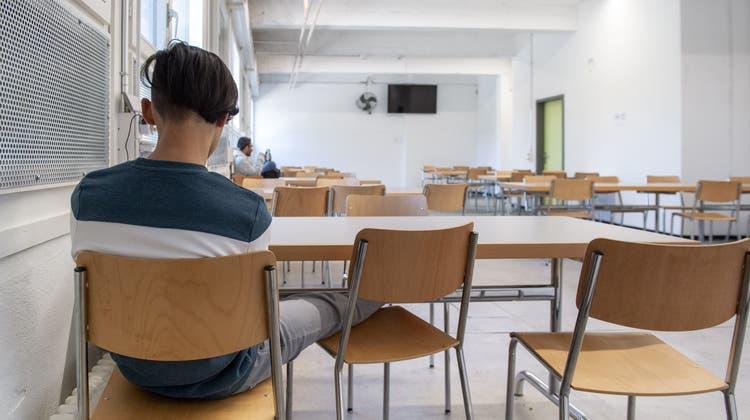 Bundesasylzentrum: Personen, die den Betrieb stören, sollen wieder in ein besonderes Asylzentrum verlegt werden. (Keystone)