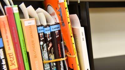 Ein Bibliotheksnutzerin macht per «Click&Collect» eine Ausleihe. (Bild: Donato Caspari)