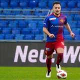 Amir Abrashi bei seinem ersten Spiel für den FC Basel. (Freshfocus)