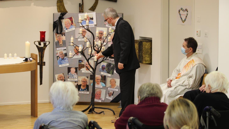 Ökumenische Gedenkfeier im Alterszentrum Klostermatte