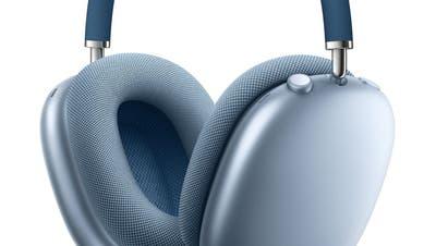 DieAirpod Max-Kopfhörer von Apple (zvg)