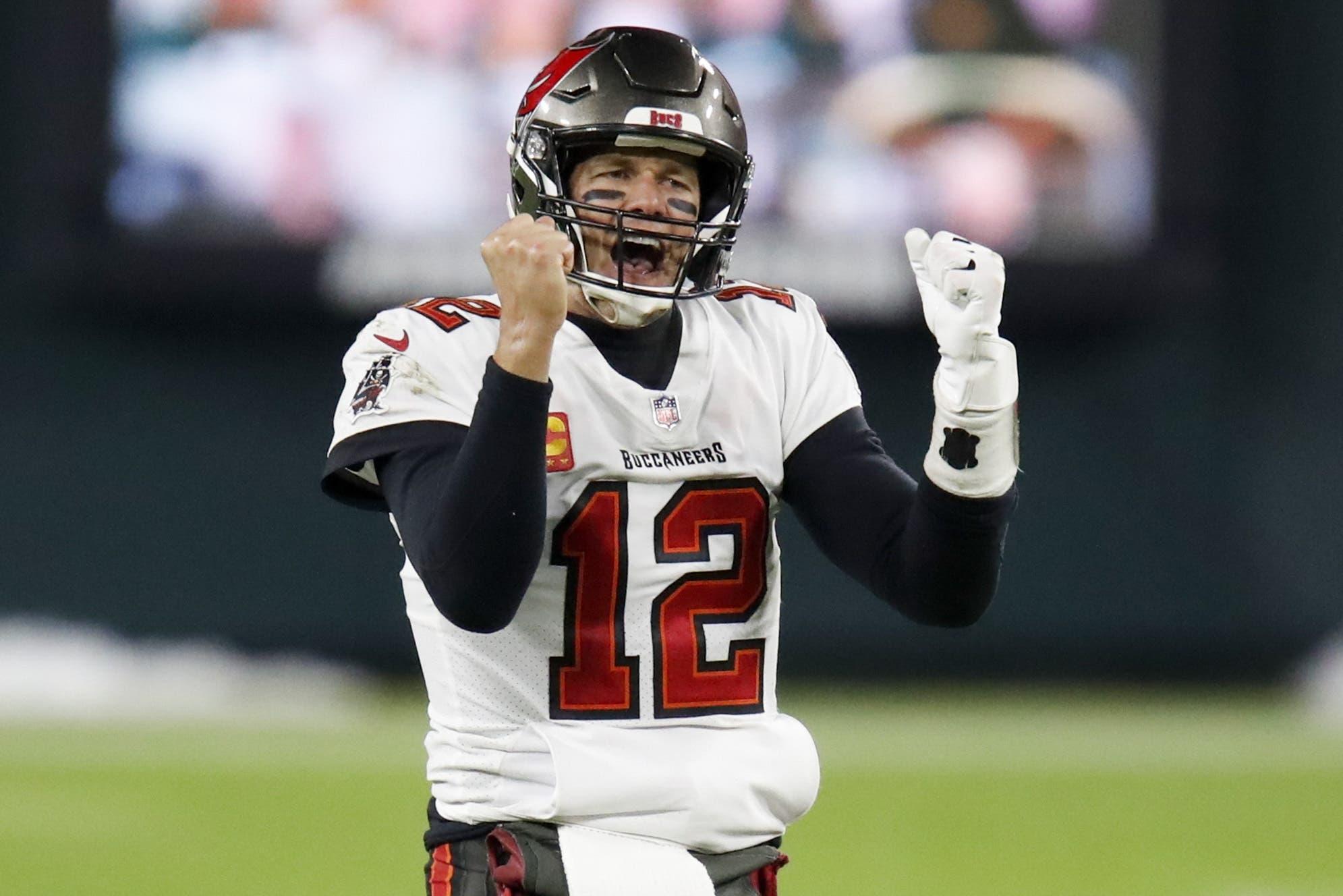 Tom Brady, 43 American FootballDer Quarterback sagt, er könne sich vorstellen, auch mit 45 noch in der NFL zu spielen.