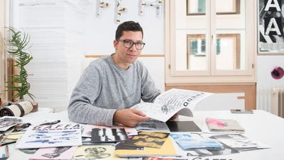 Illustrator und Comiczeichner Dario Forlin. (Bild: Urs Bucher (St.Gallen, 11. September 2018))