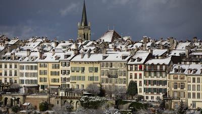 Das Erdbeben war in der Stadt Bern und in den umliegenden Gemeinden spürbar. (Symbolbild) (Keystone)