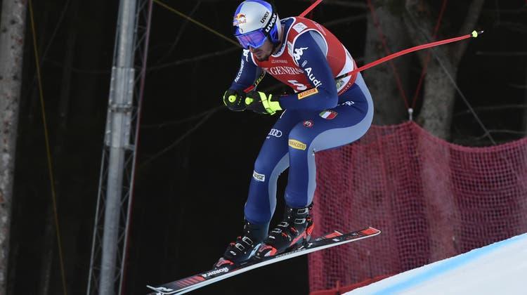 Eine Klasse für sich: Dominik Paris gewinnt in Garmisch. (AP)