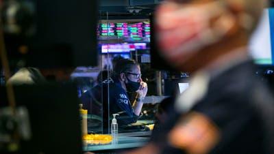 Staunen an der Börse: Einmal mehr herrscht irrationaler Überschwang (Courtney Crow / AP New York Stock Exchange)