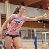 Topskorerin Madison Duello aus den USA ist eine der Profiausländerinnen von Sm'Aesch Pfeffingen.