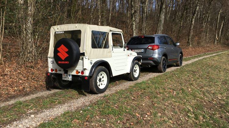 Mit dem LJ 80 begann die Suzuki-Geschichte in der Schweiz. (Bild: Aeberli)