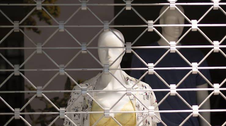 Geschlossene Läden, Kontakte eingeschränkt: Im Lockdown fühlen sich viele eingesperrt und isoliert. (Foto: Keystone)