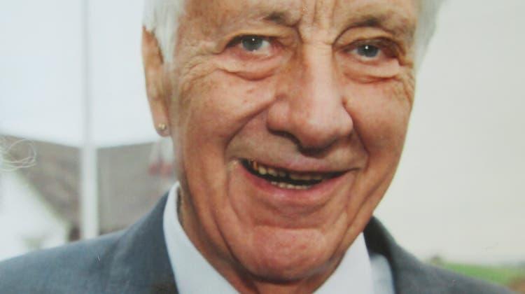 Ernst Bänziger, Bühler (22. Januar 1929–4. Februar 2021) (Bild: PD)