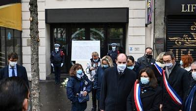 Frankreich erinnert an Pariser Terroranschläge mit 130 Todesopfern