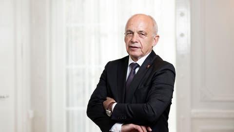Er will keine Angstmacherei: Bundesrat Ueli Maurer kritisiert Corona-Alarmismus