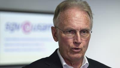 Hans-Ulrich Bigler vom SGV kritisiert die Corona-Politik der Landesregierung. (Archivbild) (Keystone)