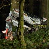 Kleinflugzeug stürzt bei Aargauer Flugplatz ab – Pilot stirbt