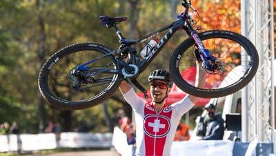 Manche hatten ihn schon abgeschrieben: Jetzt ist der Mountainbiker Nino Schurter wieder ganz oben