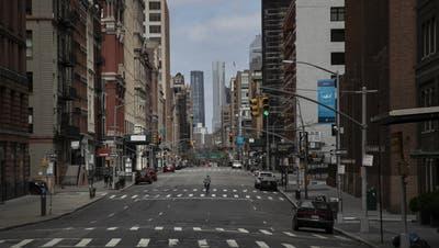 Zahl der Infizierten explodiert: New York wird zum Epizentrum in Amerika