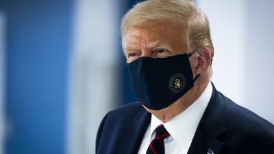 US-Präsident Donald Trump in Corona-Isolation: «Ich bin positiv getestet worden»