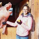 Happy End für Schwein Paula: Auf dem Tierlignadenhof hat es ein Zuhause gefunden
