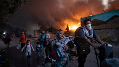 Zentrumsgemeinden wollen 15 Flüchtlinge aus Moria aufnehmen