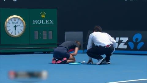 Australian Open: Gegnerin von Stefanie Vögele muss aufgeben