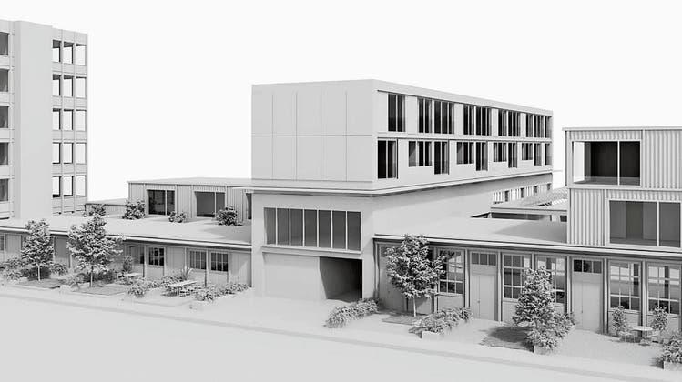 Wohnen in früheren Produktionsräumen: So soll den «Rütschi-Hallen» neues Leben eingehaucht werden